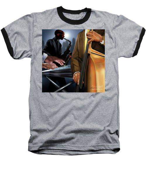 Evening Jazz Crowd Pleaser Baseball T-Shirt