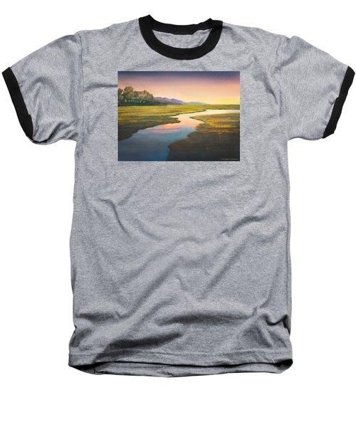 Evening Light Baseball T-Shirt by Douglas Castleman