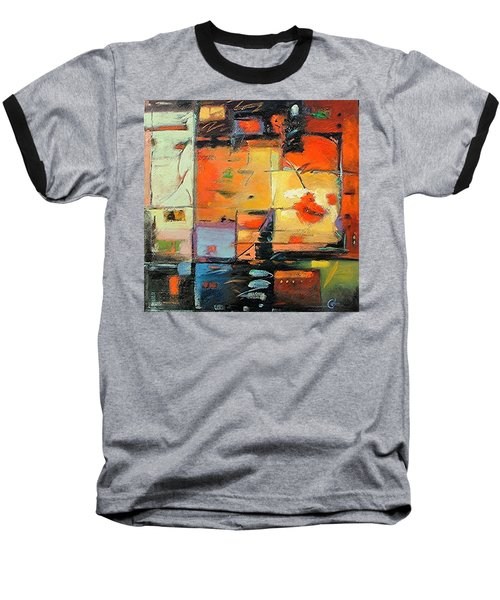 Evening Light Baseball T-Shirt by Gary Coleman