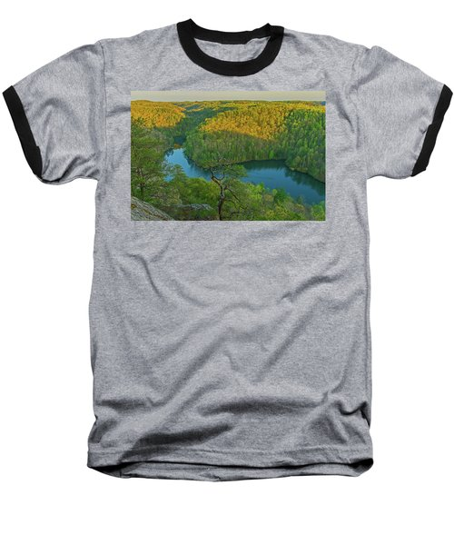 Evening Light In The Hills. Baseball T-Shirt
