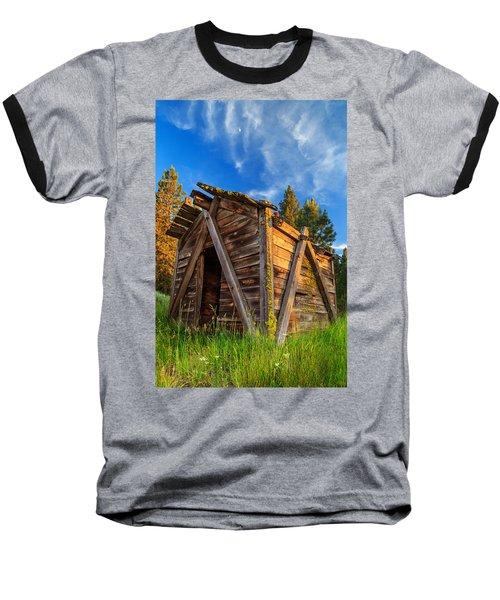 Evening Light On An Old Cabin Baseball T-Shirt