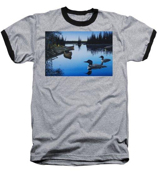 Evening Loons Baseball T-Shirt