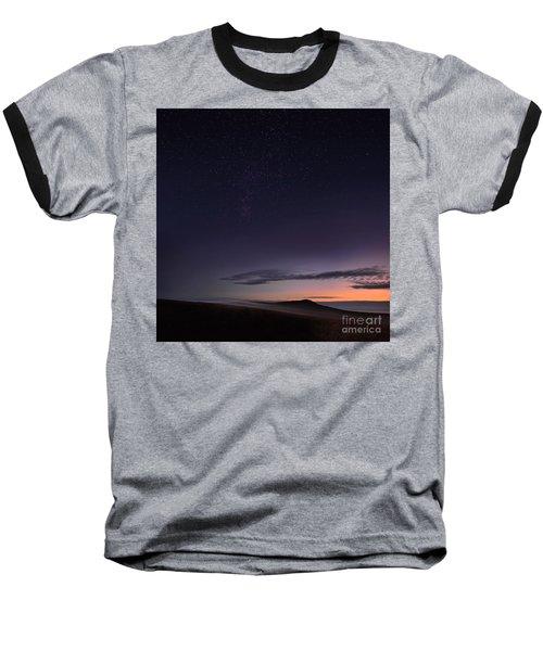 Evening Mist Rising On The Cronk Baseball T-Shirt