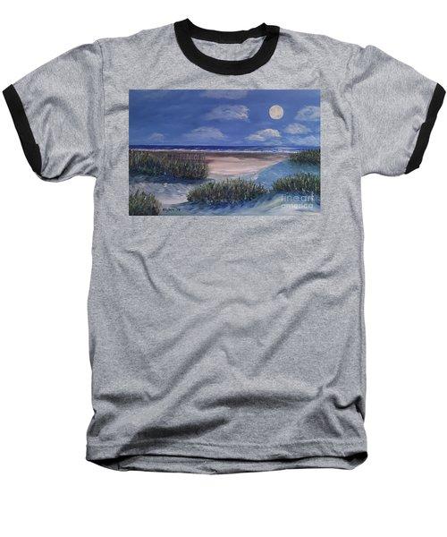 Evening Moon Baseball T-Shirt