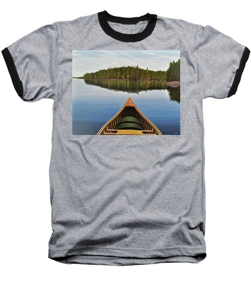 Evening Paddle  Baseball T-Shirt