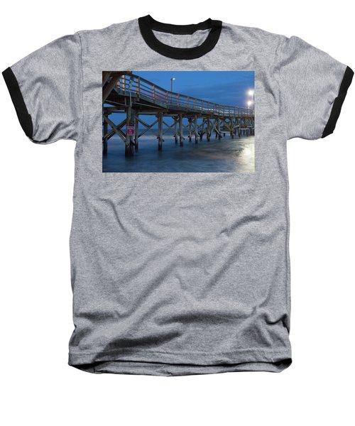Evening Pier Baseball T-Shirt