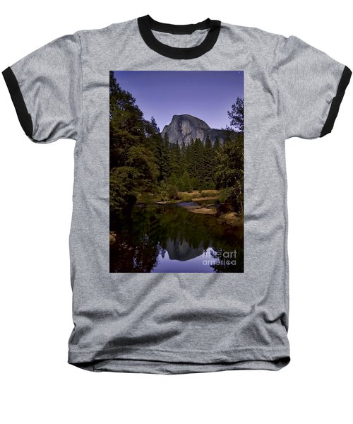 Evening Reflection Baseball T-Shirt