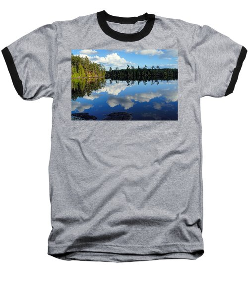 Evening Reflections On Spoon Lake Baseball T-Shirt