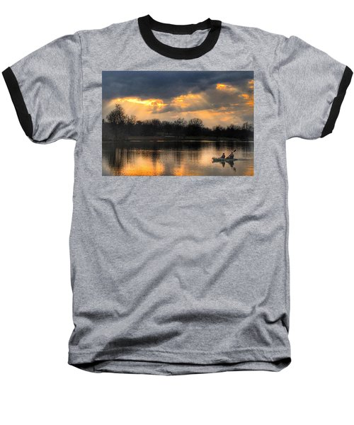 Baseball T-Shirt featuring the photograph Evening Relaxation by Sumoflam Photography