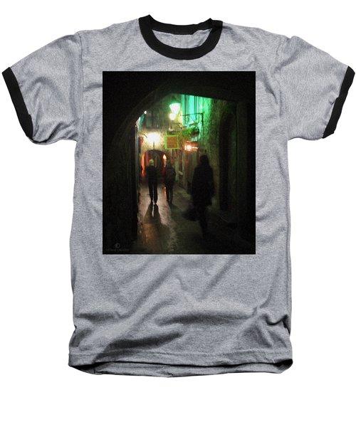 Evening Shoppers Baseball T-Shirt