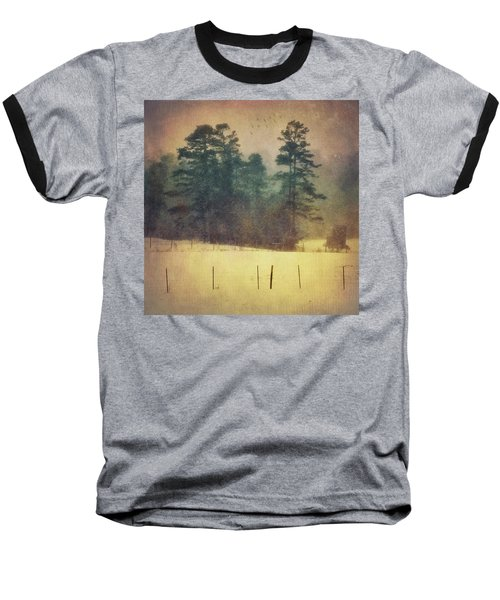 Evening Snow Glow Baseball T-Shirt