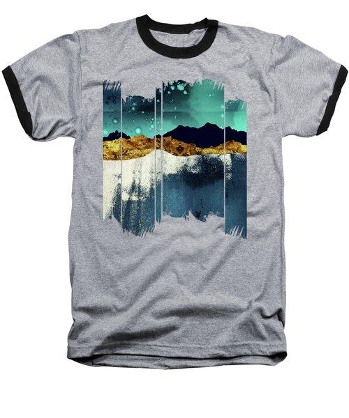 Evening Stars Baseball T-Shirt by Katherine Smit