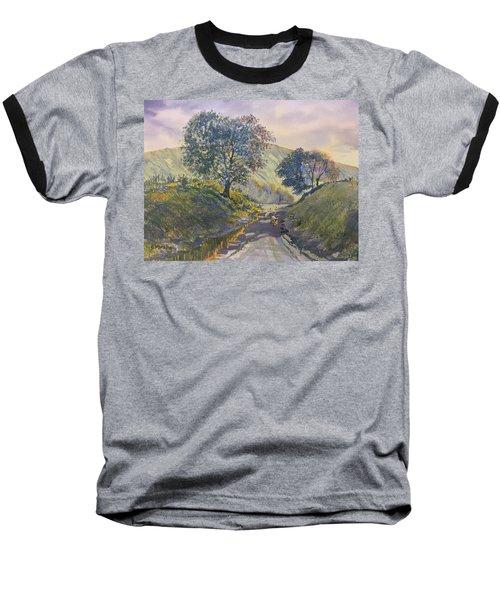 Evening Stroll In Millington Dale Baseball T-Shirt