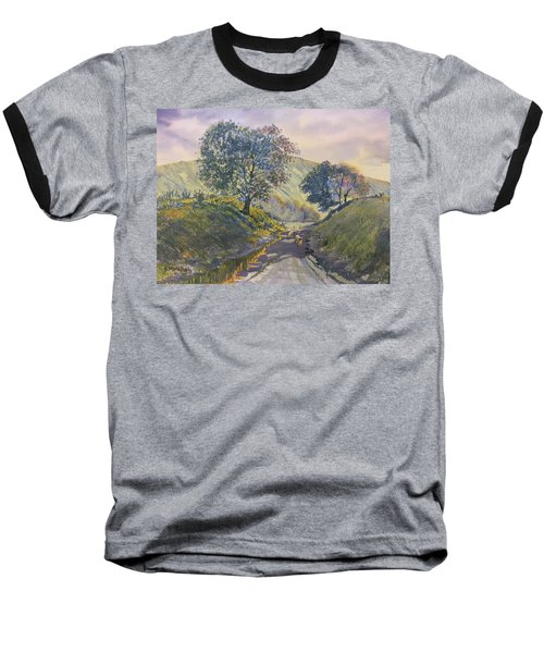 Evening Stroll In Millington Dale Baseball T-Shirt