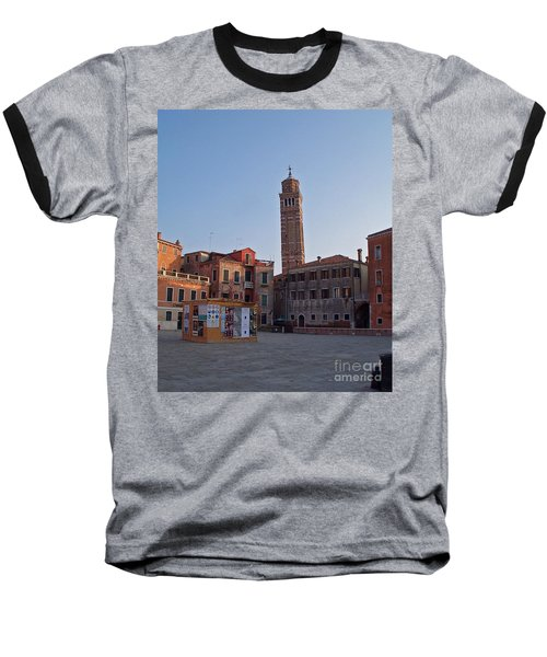 Evening Sun. Venice. Baseball T-Shirt