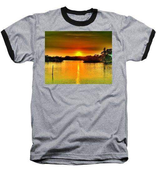 Evening Time Baseball T-Shirt