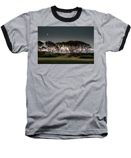 Baseball T-Shirt featuring the photograph Dusk At Fort Fisher by Phil Mancuso