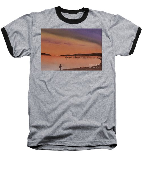 Evening Walk Baseball T-Shirt
