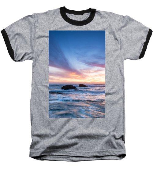 Evening Waves Baseball T-Shirt