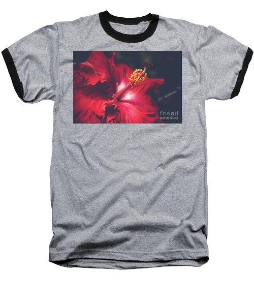 Baseball T-Shirt featuring the photograph Evening Whispers by Sharon Mau