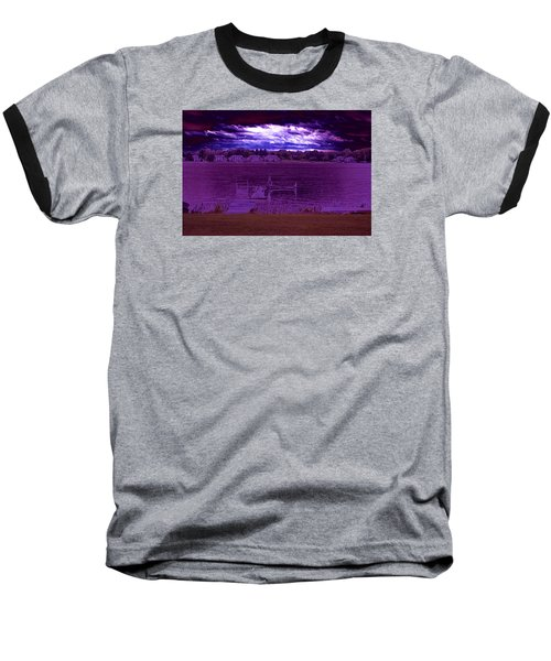 Event At The Bay Baseball T-Shirt by Jake Whalen