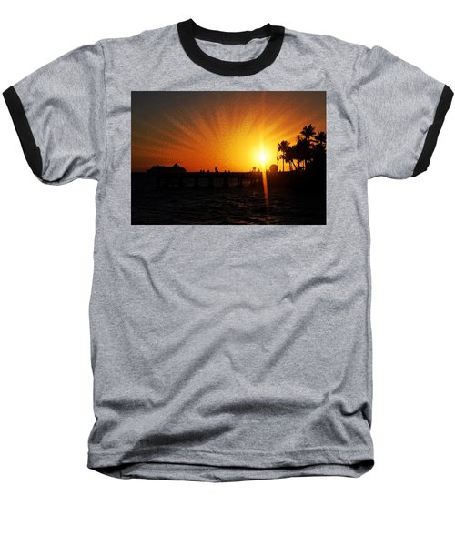 Eventide Baseball T-Shirt by JAMART Photography