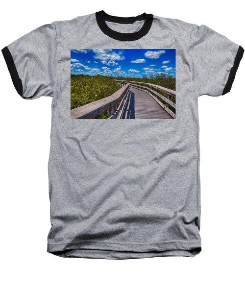 Everglades Trail Baseball T-Shirt