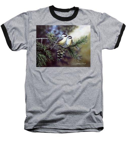 Evergreen Chickadees Baseball T-Shirt