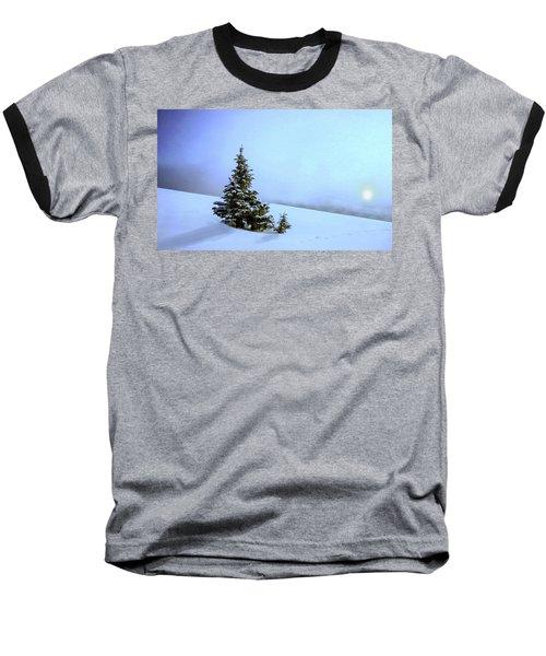 Baseball T-Shirt featuring the painting Evergreen Offspring P D P by David Dehner