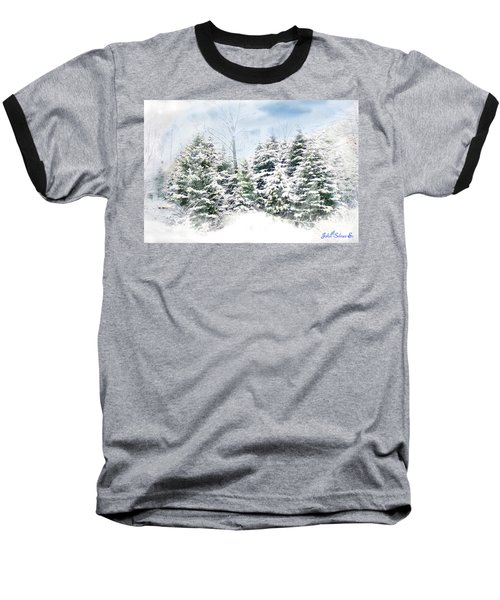 Evergreens Baseball T-Shirt by John Selmer Sr