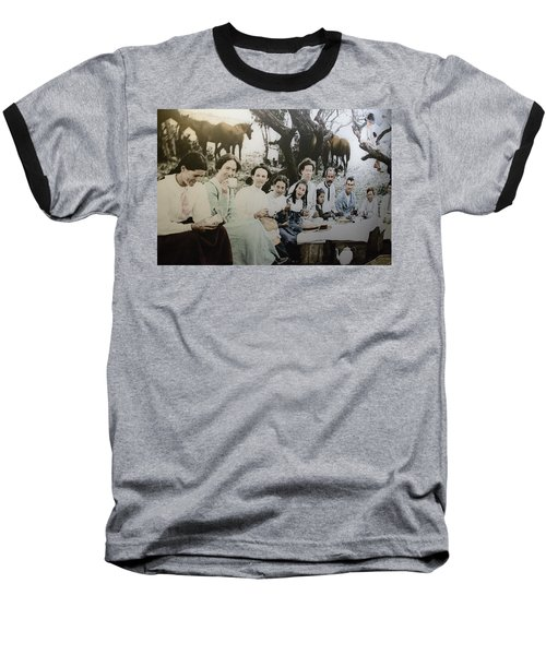 Baseball T-Shirt featuring the photograph Every Day Life In Nation In Making by Miroslava Jurcik