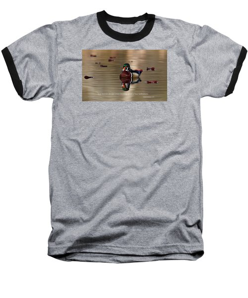 Baseball T-Shirt featuring the photograph Every Morning by Lynn Hopwood