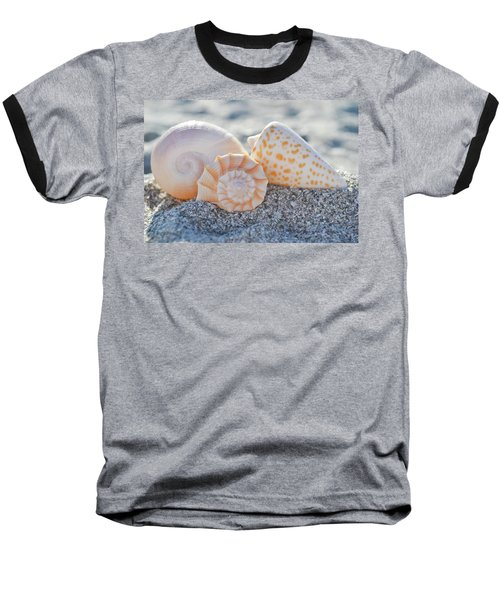 Baseball T-Shirt featuring the photograph Every Shell Has A Story by Melanie Moraga