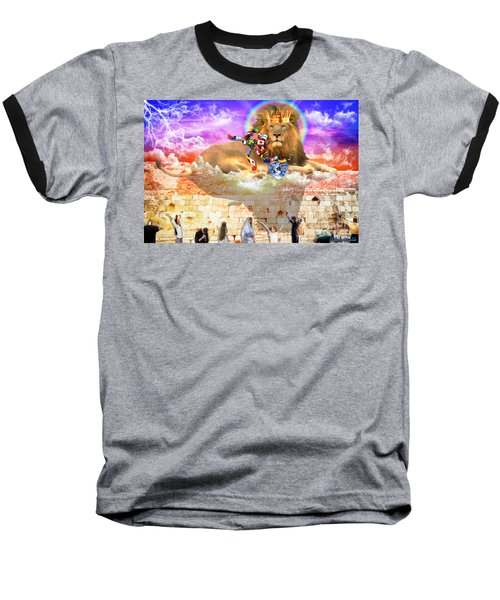 Baseball T-Shirt featuring the digital art Every Tribe Every Nation by Dolores Develde