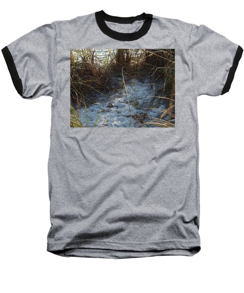 Baseball T-Shirt featuring the photograph Everything Grows In The Sand by Robert Margetts