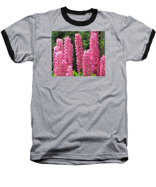 Baseball T-Shirt featuring the photograph Everything Pink by Jeanette Oberholtzer