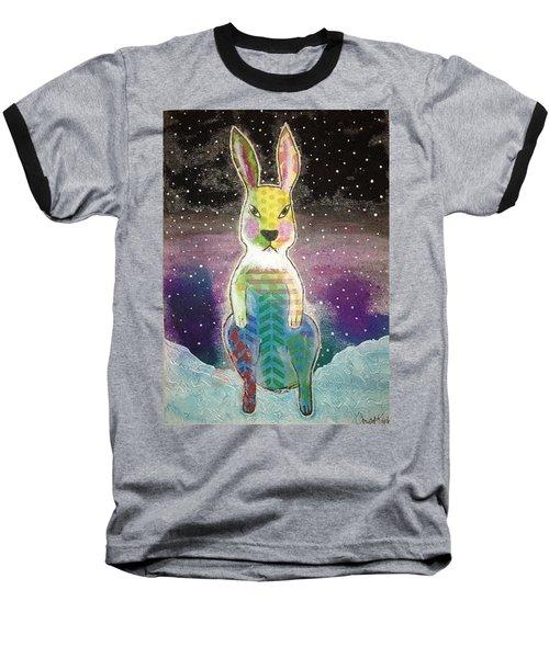 Evil Bunny Baseball T-Shirt