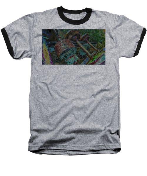 Evolution Is A Smoke Screan 2  Baseball T-Shirt