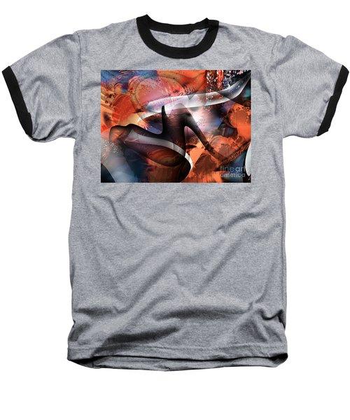 Deliverance Baseball T-Shirt by Yul Olaivar