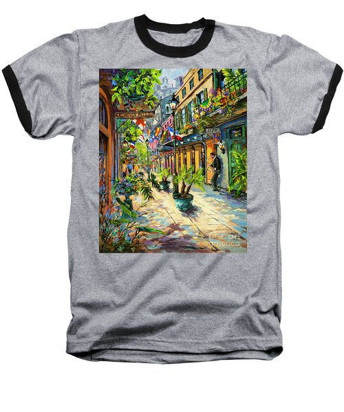 Exchange Alley Baseball T-Shirt by Dianne Parks