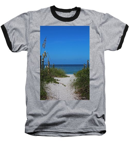 Baseball T-Shirt featuring the photograph Exclusively Captiva by Michiale Schneider