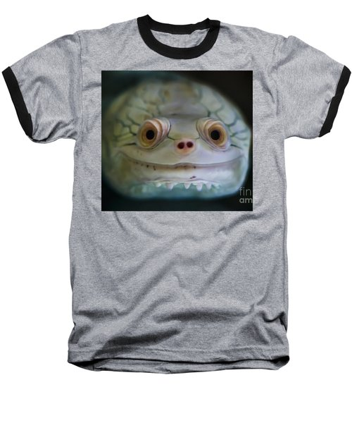 Baseball T-Shirt featuring the photograph Existence by Ray Shiu