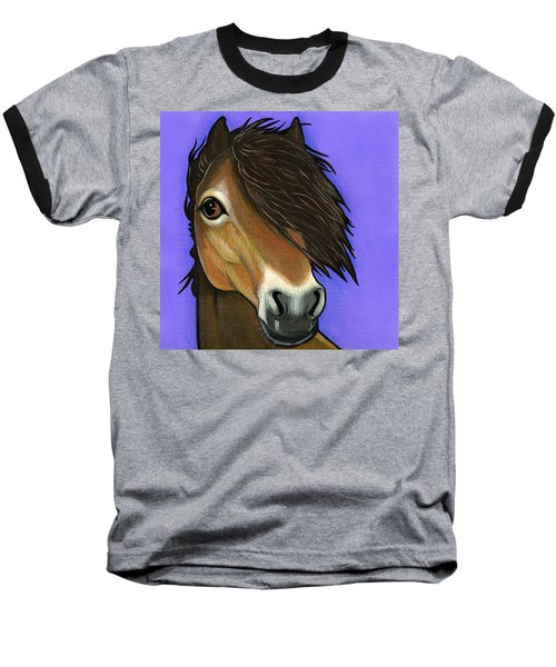 Exmoor Pony  Baseball T-Shirt