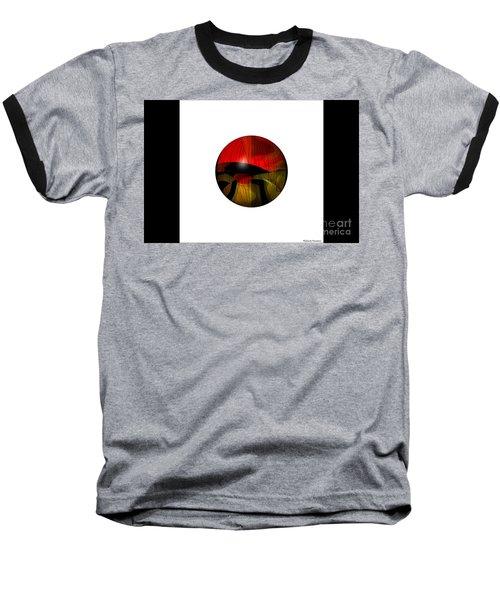Exoplanet  Baseball T-Shirt by Thibault Toussaint