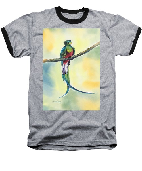 Exotic Bird Baseball T-Shirt