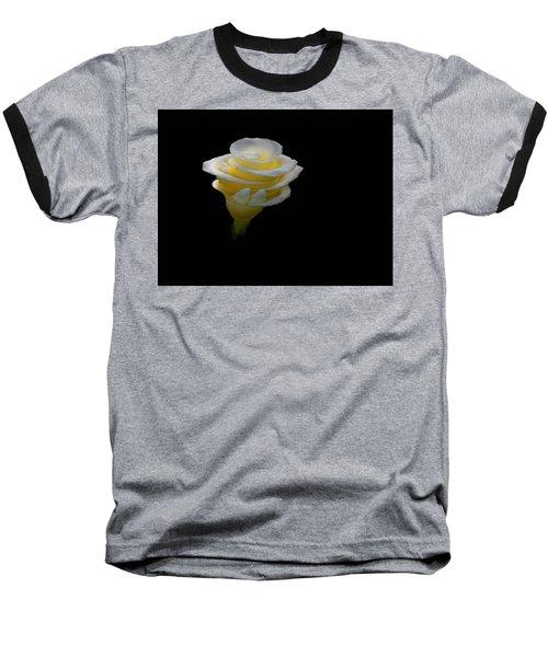 Exotic White Bloom Baseball T-Shirt