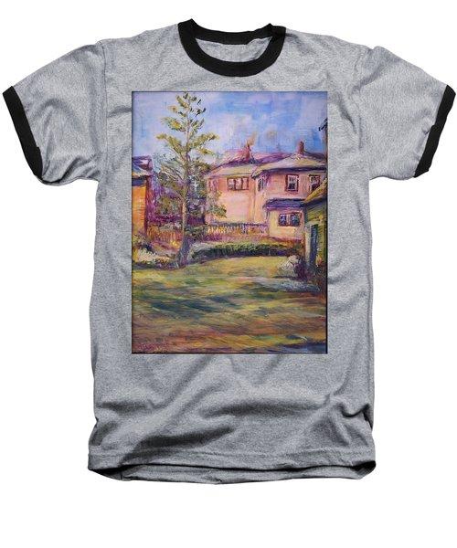 Upstairs Window Baseball T-Shirt