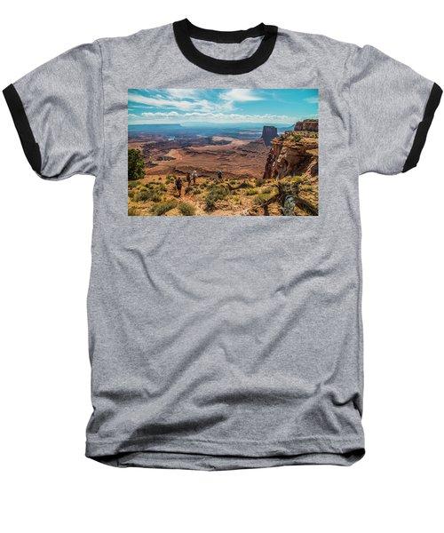 Expansive View Baseball T-Shirt