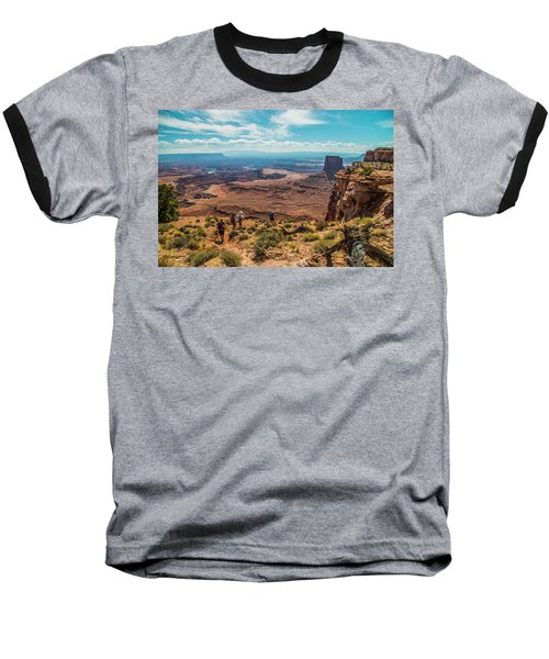 Expansive View Baseball T-Shirt