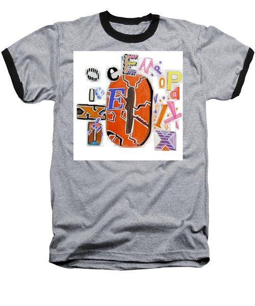Explode - Tee Shirt Art Baseball T-Shirt by Mudiama Kammoh
